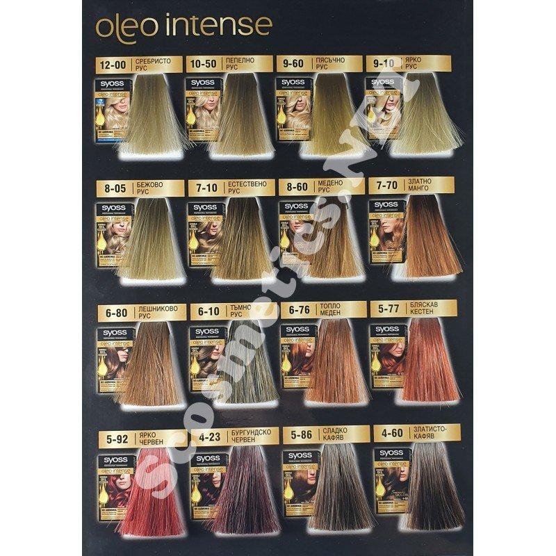 Syoss Oleo Intense безамонячна боя за коса