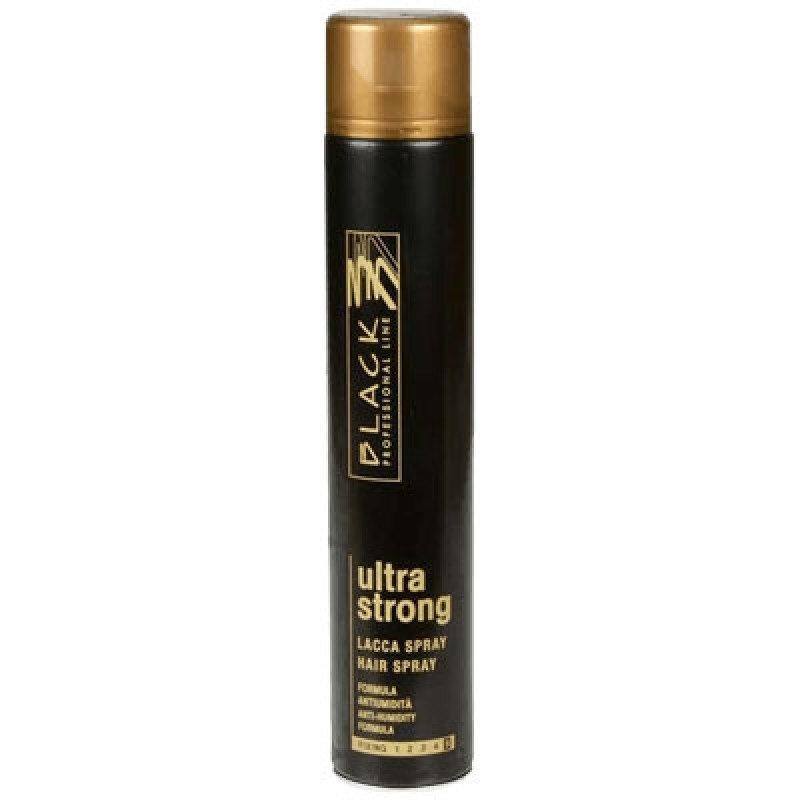 Black Professional Лак за коса с ултра силен фиксаж 750мл