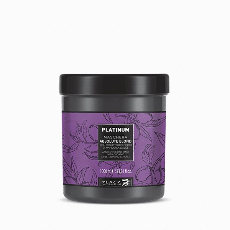Black Professional Platinum - Абсолютно руса - антижълта маска 1000мл