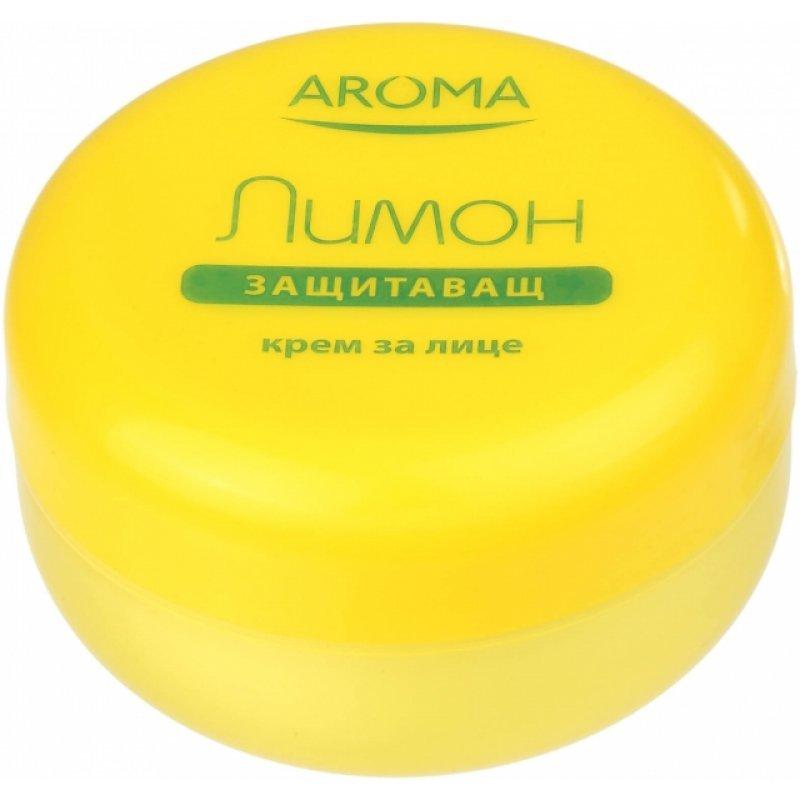 Aroma Защитаващ крем за лице с лимон 75мл