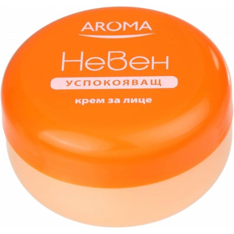 Aroma Успокояващ крем за лице с невен 75мл