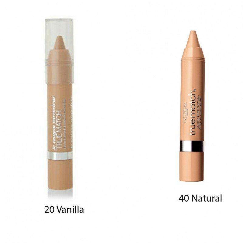 LOREAL True Match Super Blendable Creamy Concealer Коректор за лице