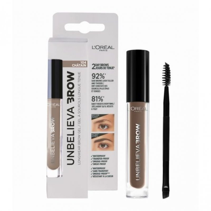 LOREAL UnbelieavaBrow Longwear Brow Gel - Дълготраен гел за вежди