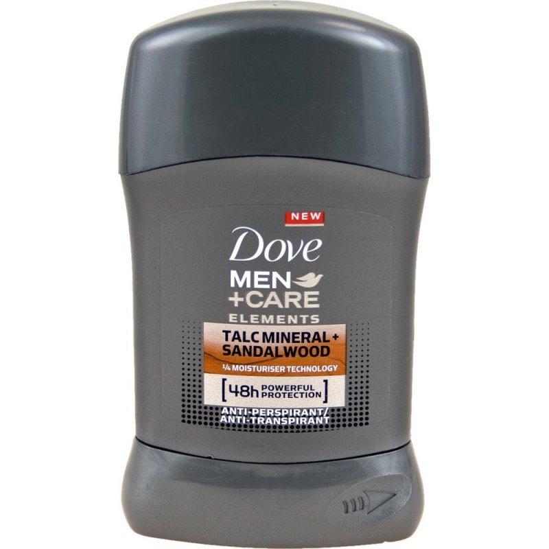 Dove Men+Care Elements Talc Mineral + Sandalwood Мъжки део стик 50мл