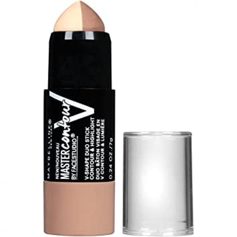 Maybelline Face Studio Master Contour V-Shape Duo Stick - Скулптуриращ стик за лице