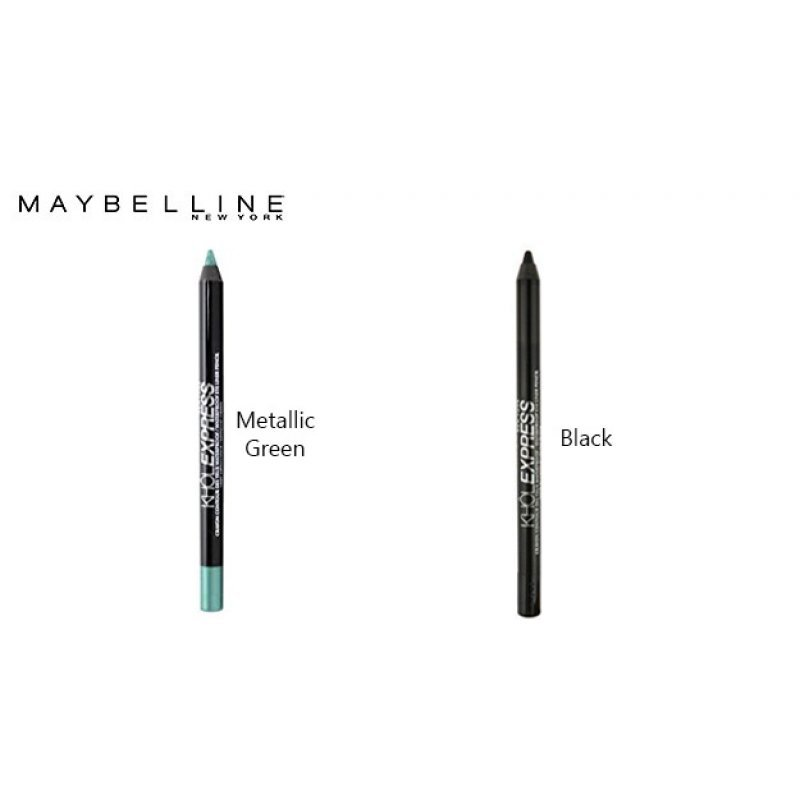 Maybelline Khol Express Waterproof Eyeliner Pencil - Водоустойчив молив за очи