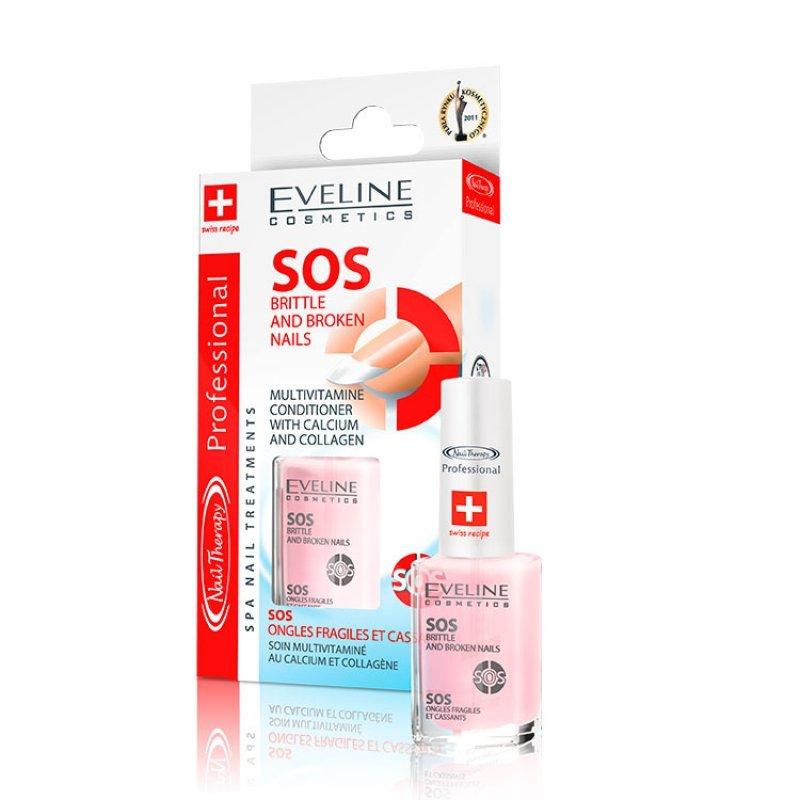 Eveline SOS Крехки и чупещи се нокти