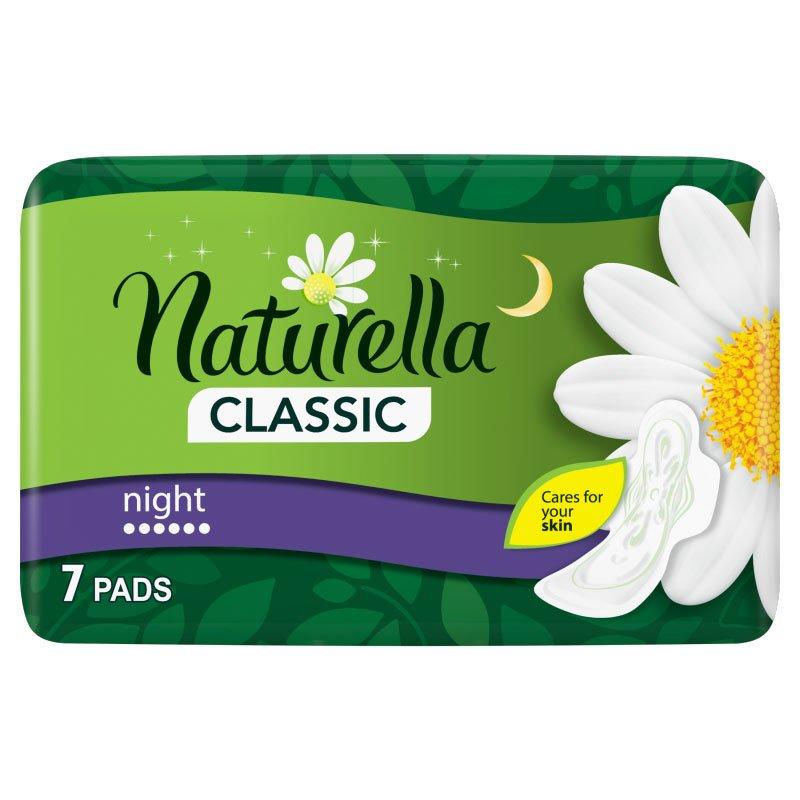 Naturella Classic Night дамски нощни превръзки 7бр