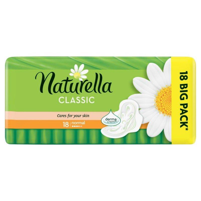 Naturella Classic Normal Дамски превръзки 18 броя