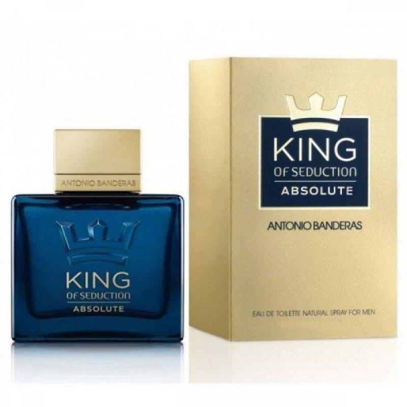 Antonio Banderas King of Seduction Absolute EDT Мъжка тоалетна вода