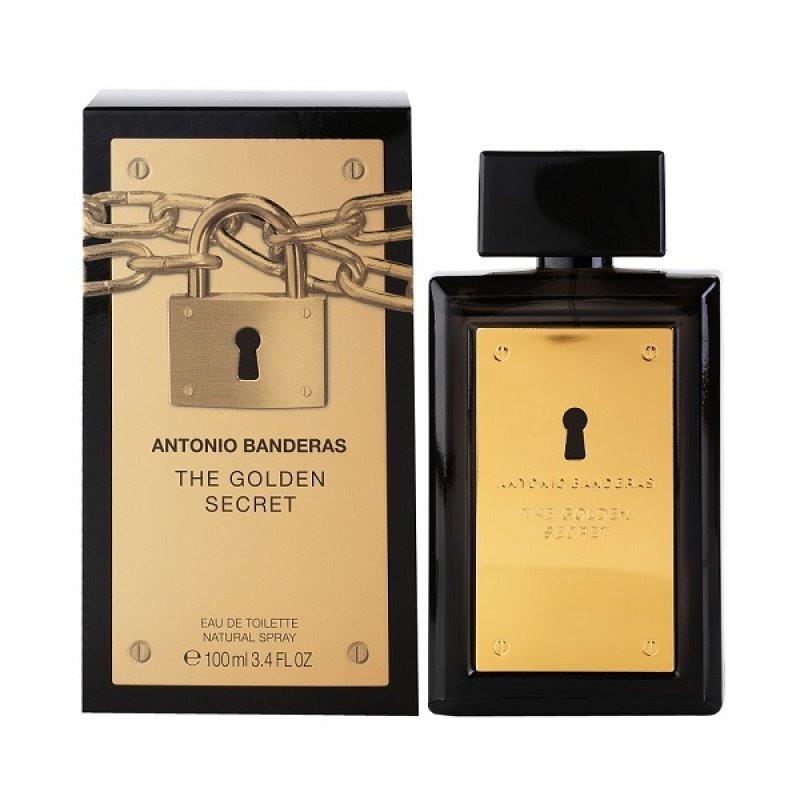 Antonio Banderas The Golden Secret EDT Мъжка тоалетна вода