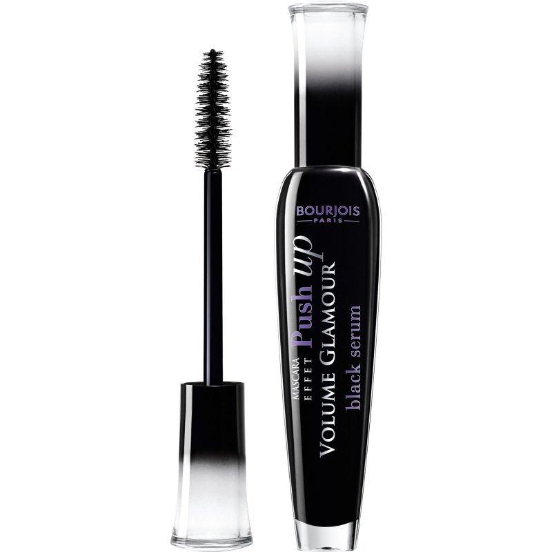 Bourjois Volume Glamour Push-up Effect Mascara - Black Serum - Черна спирала за обемни мигли с повдигащ ефект - черен серум