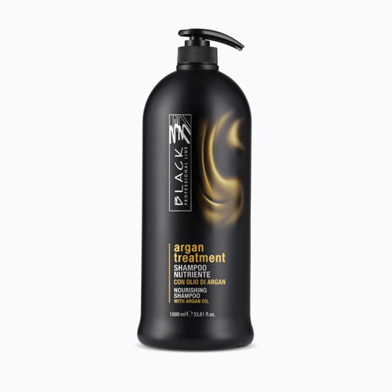 Black Professional Подхранващ шампоан от арганово масло 250мл