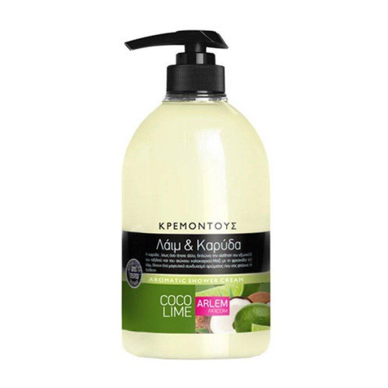 Arlem душ крем с аромат на кокос и лайм 1000мл