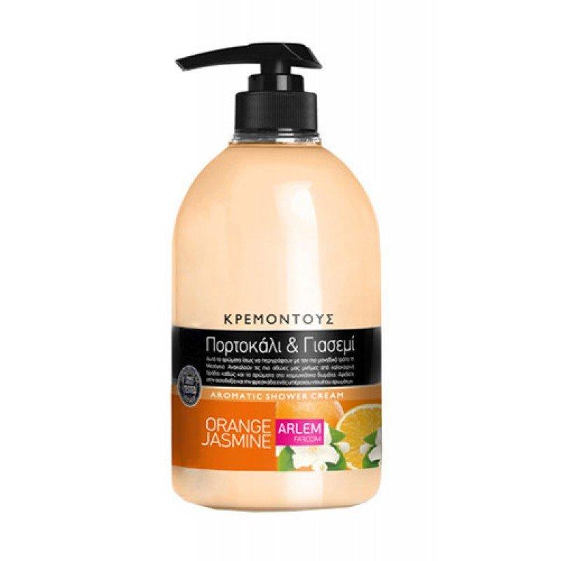 Arlem душ крем с аромат на портокал и жасмин 1000мл