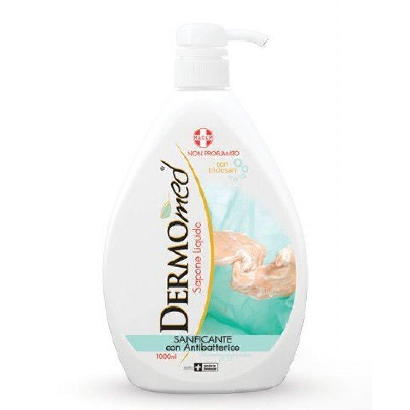 DERMOmed течен сапун с дозатор Антибактериален 1000мл