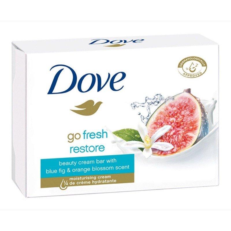 Dove Go Fresh Restore Крем-сапун за тяло със смокиня и портокалов цвят 100гр