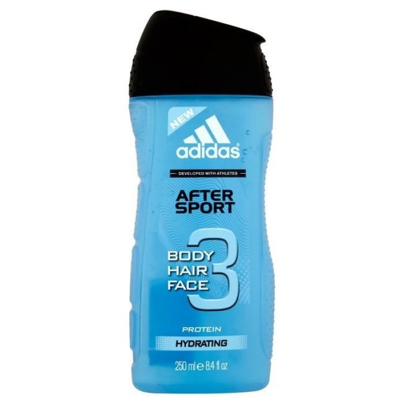 Adidas 3 in 1 After Sport Мъжки душ гел 250мл