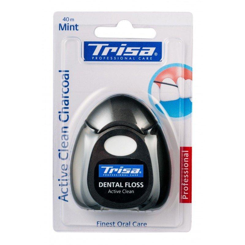 Trisa Active Care конец за зъби с мента 40м