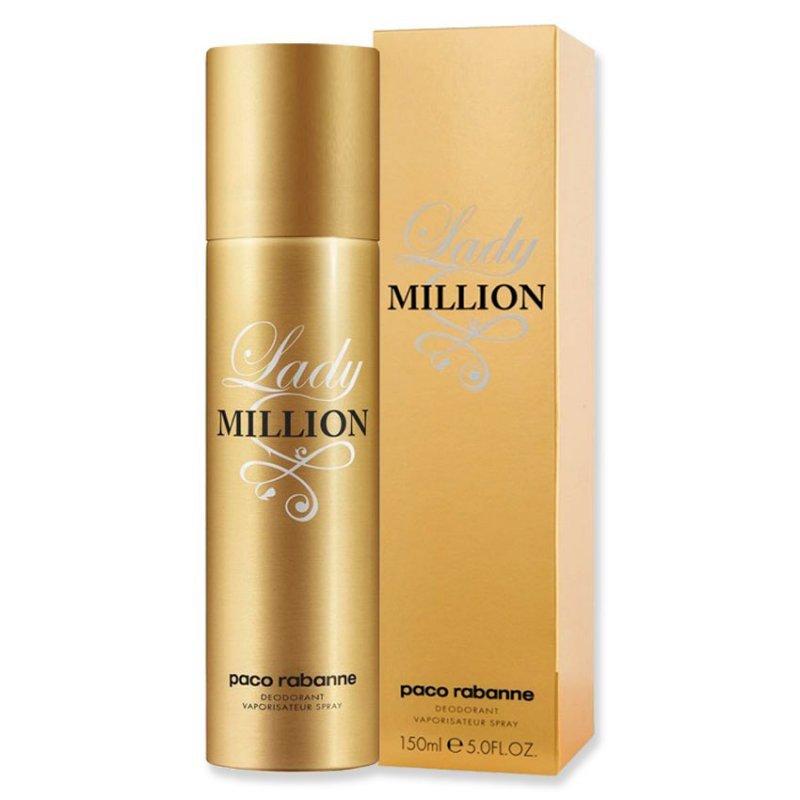 Paco Rabanne Lady Million дезодорант за жени 150мл