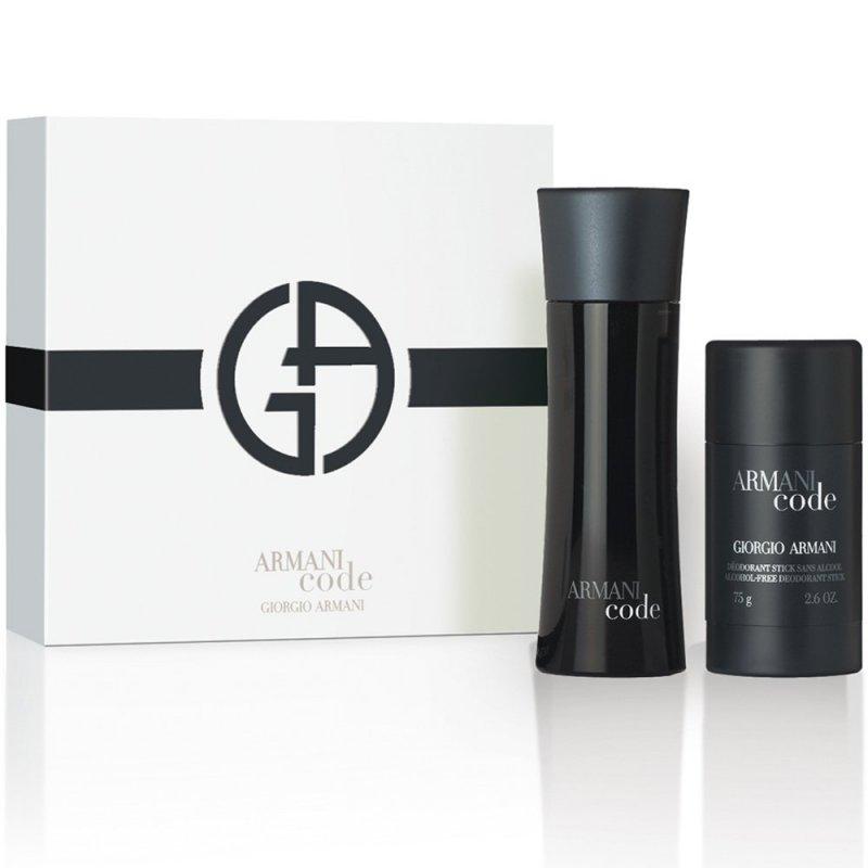 Armani Code for him - Подаръчен комплект за мъже: 75мл тоалетна вода + део стик 75гр