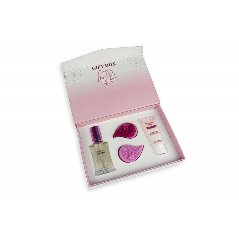 "Biofresh Diamond Rose with Rose Alba Oil and Diamond Powder Gift Box - Подаръчен комплект ""Diamond Rose"""