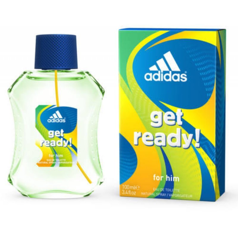 Adidas Get Ready! EDT - Мъжка тоалетна вода Адидас 100мл